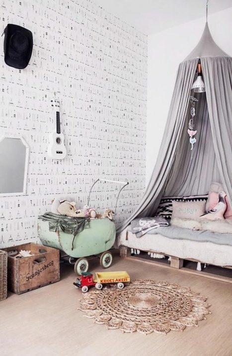 30 fotos e ideas para decorar una habitación infantil actual. | Mil Ideas de Decoración | Decoración de interiores | Scoop.it