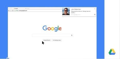 Google Drive desplegará notificaciones dinámicas de archivos en Chrome | Aprendiendoaenseñar | Scoop.it