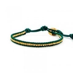 Chan Luu Bracelets Gold Vermeil Single Wrap Bracelet on Natural Turquoise Leather | Bracelet | Scoop.it