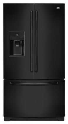 ###  New   Maytag MFT2673BEB: Black-on-Black Maytag ® 26 cu. ft. Ice2O ® French Door Refrigerator with Better Built Compressor Maytag | Cheap Refrigerators on Sale | Scoop.it