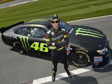 Valentino Rossi Drives NASCAR - CarBuzz - CarBuzz - Car News and Reviews | MotoGP  Information Media  Pages | Scoop.it