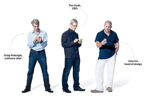 Apple Chiefs Discuss Strategy, Market Share—and the New iPhones   THE Tech Scoop   Scoop.it
