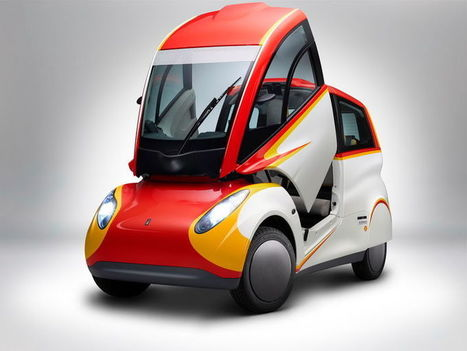 Shell's Adorably Weird New City Car Can Get 107 MPG | News we like | Scoop.it