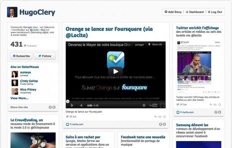 RebelMouse, la page d'accueil sociale, entre agrégateur de contenu et outil de curation | Time to Learn | Scoop.it