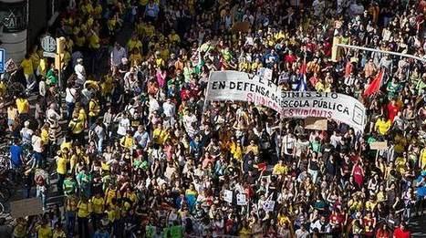 El Periódico de Cataluña. Decenas de miles de personas protestan contra la LOMCE en BCN | La prensa | Scoop.it