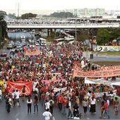 A Brasilia, (encore) une manifestation | Le  Brésil : des inégalités qui persistent et qui  freinent l'essor d'une BRICS | Scoop.it