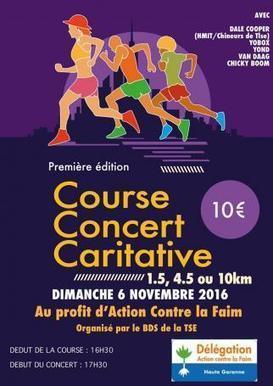 Course et concert organisé par la Toulouse School of Economics - Actioncontrelafaim.org   Vie du Campus   Scoop.it
