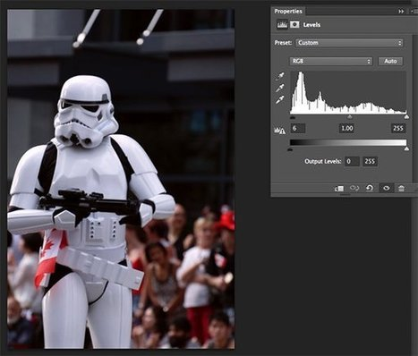 Using Levels in Photoshop to Image Correct Color and Contrast | The Art of Photography | Scoop.it
