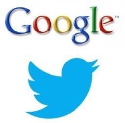 Twitter / Google : les nouvelles règles du jeu… - JVWEB | SEO | Scoop.it