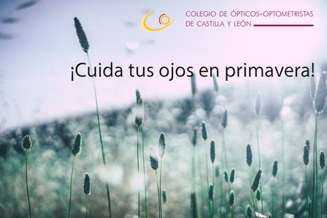 Los ópticos-optometristas de Soria recuerdan proteger los ojos frente a las alergias primaverales | Salud Visual 2.0 | Scoop.it