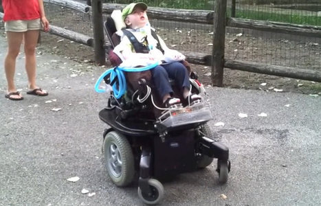 Dad hacks wheelchair to let 2-year-old explore the world   Assistive Technology   Scoop.it
