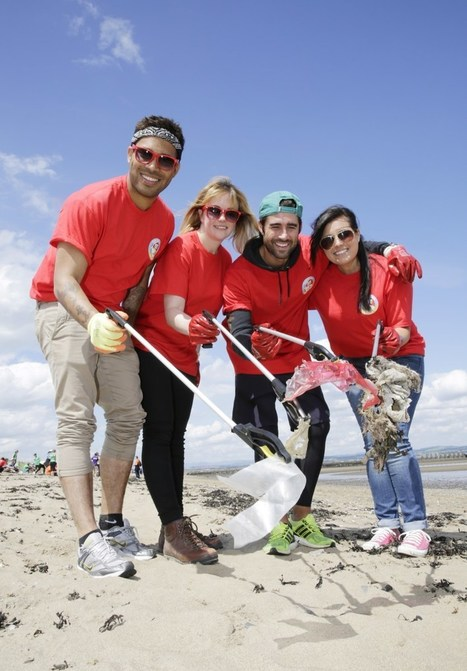 People's Postcode Lottery help with Cramond Beach clean-up | edinburgh | Scoop.it