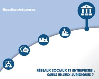 Réseaux sociaux et entreprises : quelles responsabilités juridiques ? Guide pratique | Médias sociaux & web marketing | Scoop.it