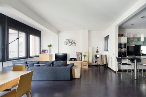 Dernier étage design à louer à Barcelone  Sant-Gervasi   Barcelona   Scoop.it