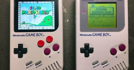 Game Boy mod plays nearly any classic Nintendo game | [OH]-NEWS | Scoop.it
