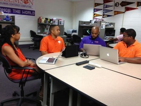 Clemson's computer science department boasts 10 percent of black professors nationwide | Inside Higher Ed | STEM Advocate | Scoop.it