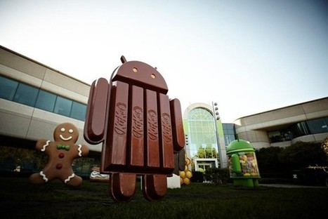 Google teases Android 4.4 as 'KitKat,' passes one billion Android activations (video) | ICT at IMCC | Scoop.it