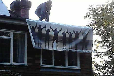 Fathers 4 Justice protester on justice secretary's roof | SocialAction2014 | Scoop.it
