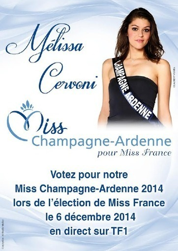 Mélissa CERVONI, fille du capitaine Didier CERVONI, Miss Champagne-Ardenne | Udsp51 | SAPEURS-POMPIERS DE LA MARNE | Scoop.it