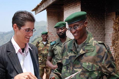 Mr. Hannes.The former German secret adviser of General Nkunda | Getting rich in poverty Congo | Scoop.it
