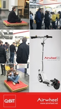 Airwheel Z5 Foldable Good Quality Electric Skateboards Gives Riders Convenience | Press Release | Scoop.it