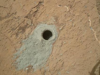 Curiosity Mars rover drills second rock target | 21st Century Innovative Technologies and Developments as also discoveries | Scoop.it