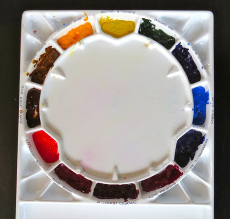 The Painted Prism: GETTING STARTED IN WATERCOLOR: BASIC COLOR PALETTE   Creative stuff   Scoop.it