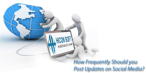 How Frequently Should you Post Updates on Social Media? | Business | Scoop.it