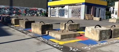 Des citoyennes embellissent le terrain vacant à côté du Bingo | RueMasson.com | Jardins partagés de là-bas et au-delà - Community gardens from the world | Scoop.it