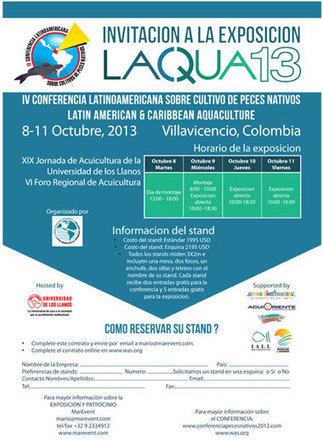 Conferencia Latinoamericana Peces Nativos - LACQUA'13 - October 2013 - Columbia | RodzWilliams | Scoop.it