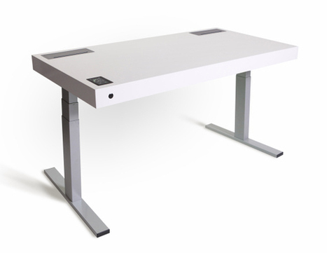 This $4K desk has Wi-Fi, Bluetooth, APIs, a touchscreen -- and will save years of your life | B&T News | Scoop.it