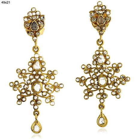 Diamond Gold Drop Earrings | Wholesale Jewelry | GemcoDesigns | Pave Diamond Palm Bracelets | Diamond Jewelry | GemcoDesigns | Scoop.it