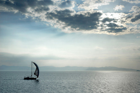 Greece - Aegina - Boat silhouette | Rent a car | Scoop.it