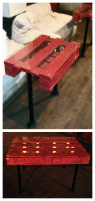 Nigth Club Pallet Tables | Upcycled Objects | Scoop.it