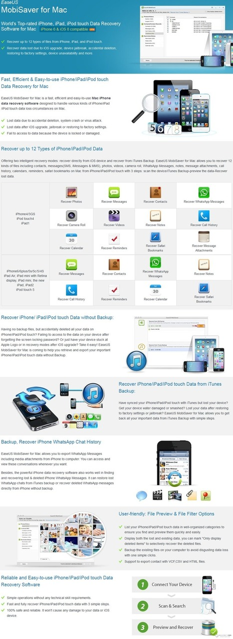 65% Off - EaseUS MobiSaver for Mac with Discount Coupon code   Data Recovery Software Coupon Codes   Scoop.it