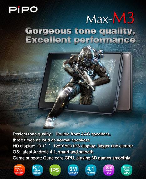 Tablette PIPO MAX Movie M3 - 10.1 pouces | Tablettes tactiles | Scoop.it
