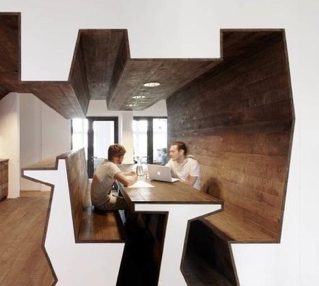 Bureaux : plans-coupes par Stephen Williams Associates | Architecture pour tous | Scoop.it
