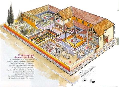 domus romana | José Ignacio Casado Hernanz: Roma en España | Scoop.it