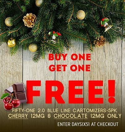Buy 1 get 1 free sale at smoke51! | Fifty-One - Vapor Electronic Cigarette | Scoop.it