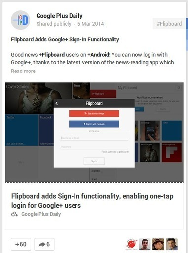 #GooglePlus link posts receive massive thumbnails like Facebook | GooglePlus Expertise | Scoop.it
