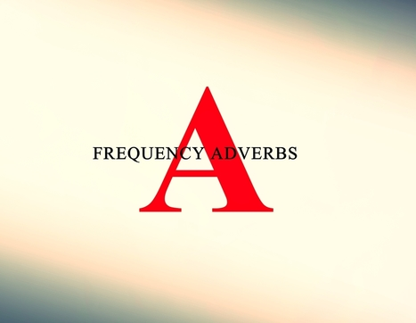 ESL / EFL  –  Word Order: The Position of Frequency Adverbs in English Sentences | Fieldtrips | Scoop.it