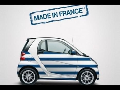 Smart habille sa Fortwo à la mode de chez nous - Autoplus.fr | made in france youpi | Scoop.it