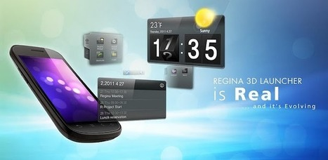 Regina 3D Launcher Pro - Applications Android sur Google Play | Android Apps | Scoop.it