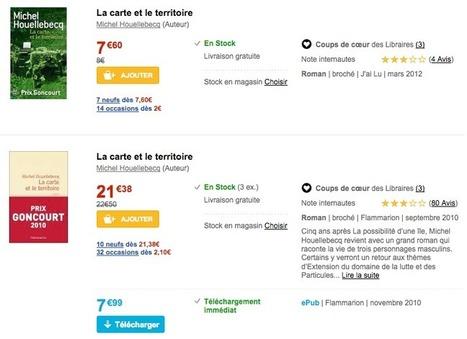 Pourquoi les livres papiers sont moins chers que les ebooks ? | Oui, pourquoi ? | Scoop.it