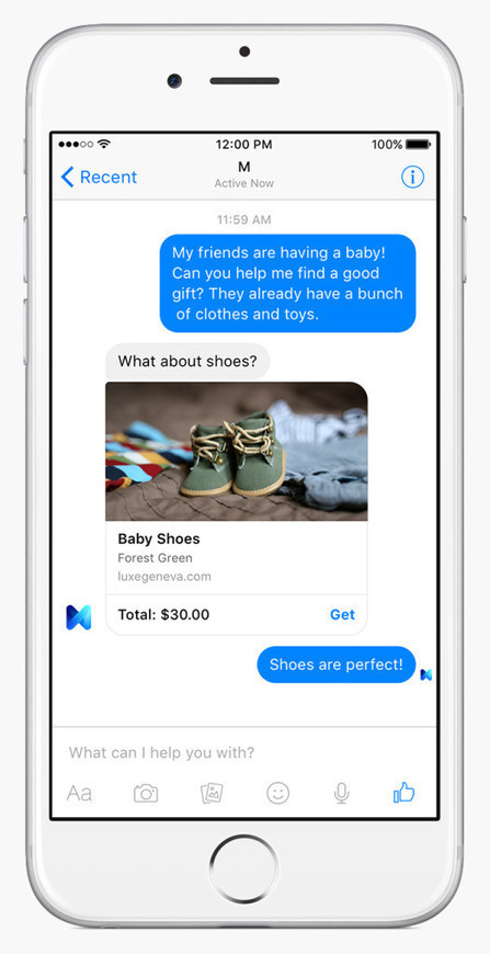 Facebook Launches M, Its Bold Answer to Siri and Cortana | The Future of Social Media: Trends, Signals, Analysis, News | Scoop.it