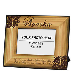 Unique Wooden Personalized Frame: Buy Customized Unique Wooden Frame Online | Amazing designs for amazing customized gifts | Scoop.it