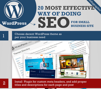 Top 20 SEO Hacks For Your WordPress Site [Infographic] | Social Web Dzine | Scoop.it
