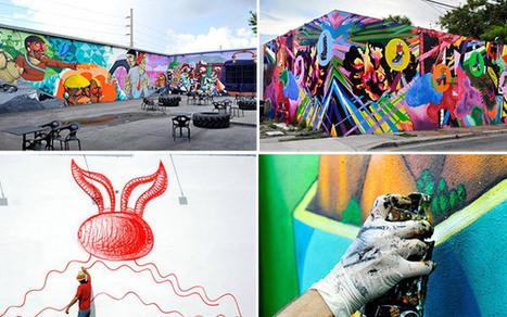 Conheça o bairro de Miami que é um museu de street art a céu aberto | Urban Choreography | Scoop.it