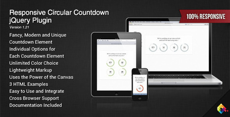 35+ Best Free jQuery Countdown Timer   DesignMaz   Dev   Scoop.it