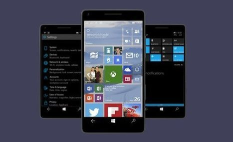 Windows 10 Technical Preview llega hoy a los smartphones | PCNOVA Mobility | Scoop.it